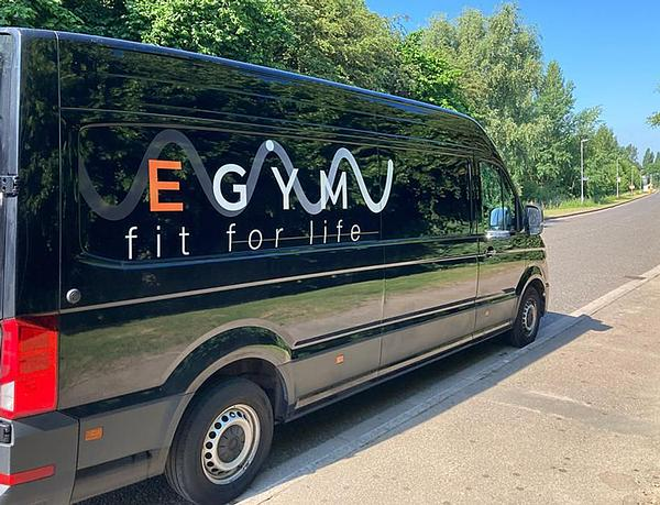 The Egym Experience Tour has been travelling the country / photo: Egym
