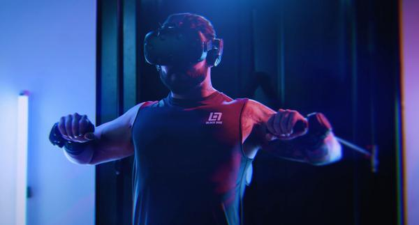 Users have their own personal booth and get post-workout stats via the app / photo: black box vr