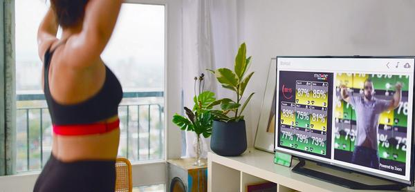 MZ-Remote sessions: fitness professionals and Myzone tiles create motivating moments