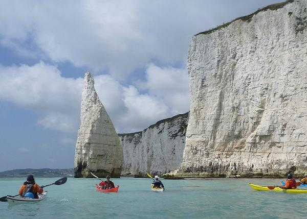 Fifty per cent of the south coast contracts are for oudoor activities, such as sea kayaking which has been booming since the end of lockdown / photo: Active Nation