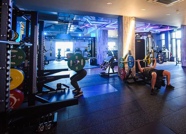 A mix of Technogym equipment has been installed to suit members at all levels