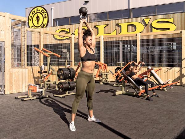 Gold's Gym Berlin also offers an outdoor gym for all members / photo: RSG Group
