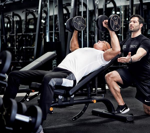 Connecting all areas of the gym floor allows staff to set goals and create training plans for clients / photo: Precor