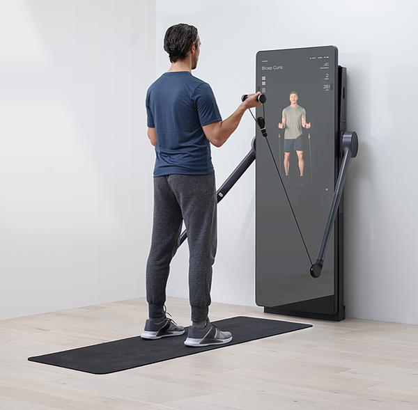 The Forme Life mirror has an embedded screen / PHOTO: FORME LIFE