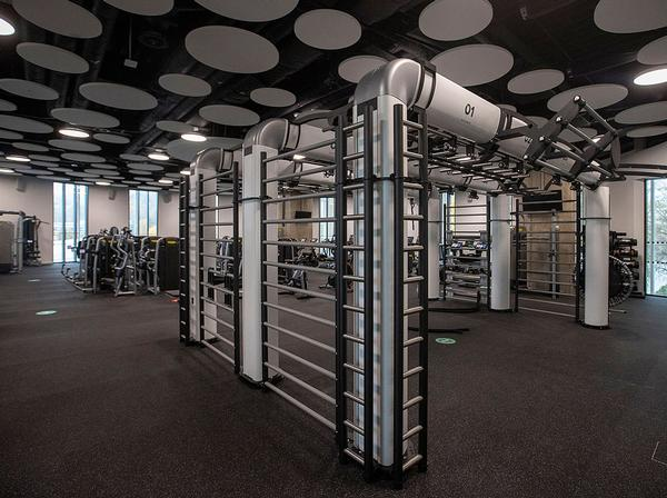 Facilities have been designed to engage staff, students and community / photo: TECHNOGYM