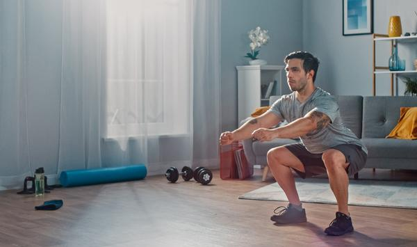 A sizeable uptick in strength training was one of the more positive findings / SHUTTERSTOCK/Gorodenkoff