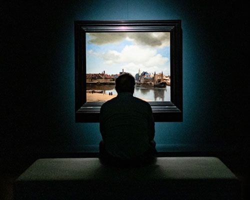 Alone with Vermeer