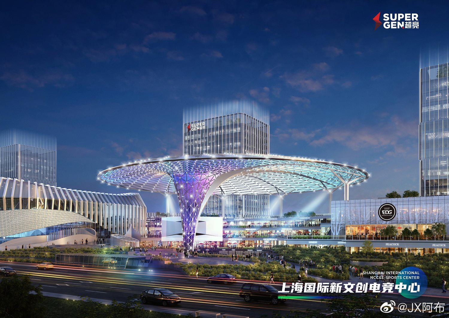 The 6,000-seat arena is expected to open in 2024 and is expected to host around 300 events each year / SuperGen Group