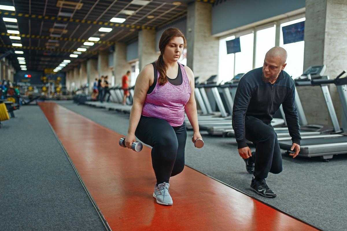 Nearly half of English adults want to exercise more during 2021 / Shutterstock.com/Nomad_Soul