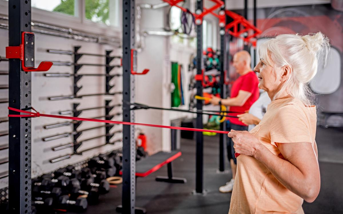 The findings could have significant implications for the way fitness instructors and personal trainers work with female clients over the age of 50 / Shutterstock.com/Leszek Glasner