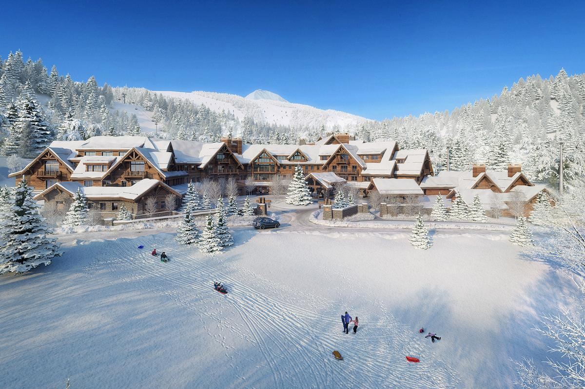 The location will have easy access to the US' second-largest ski resort – called Big Sky Resort – offering 5,800 skiable acres / Montage Big Sky