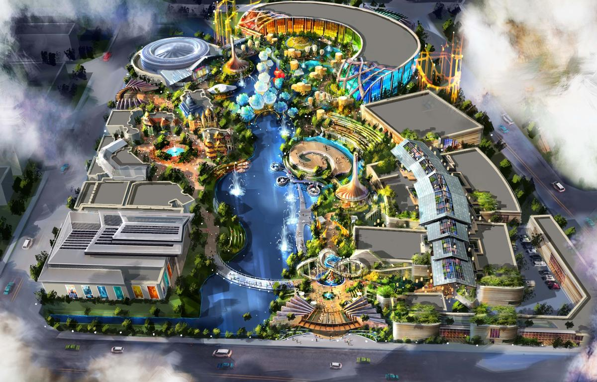 Enlight has selected US-based Legacy Entertainment to design the attraction / Legacy Entertainment