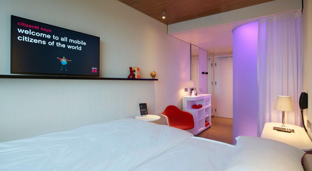 Guests at CitizenM's 21 hotels will be able to access the service free via their in-room TVs / CitizenM