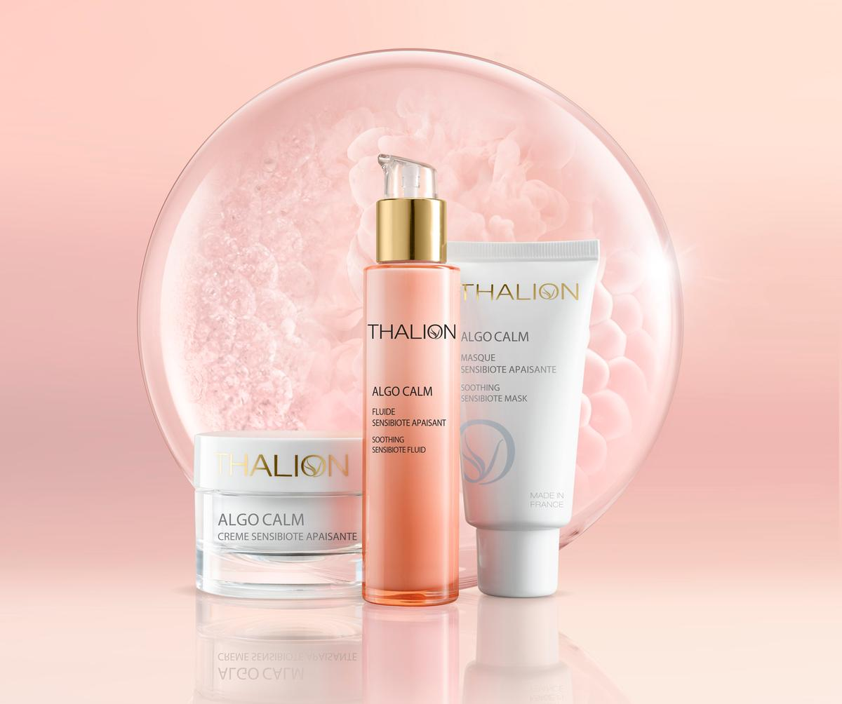 Thalion has complemented the launch by creating a new 60-minute SensiMarine Facial