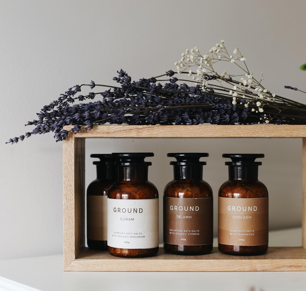 Ground has four families of products in its line – Talamh, Codladh, Beo and Cúram / Simone Gannon
