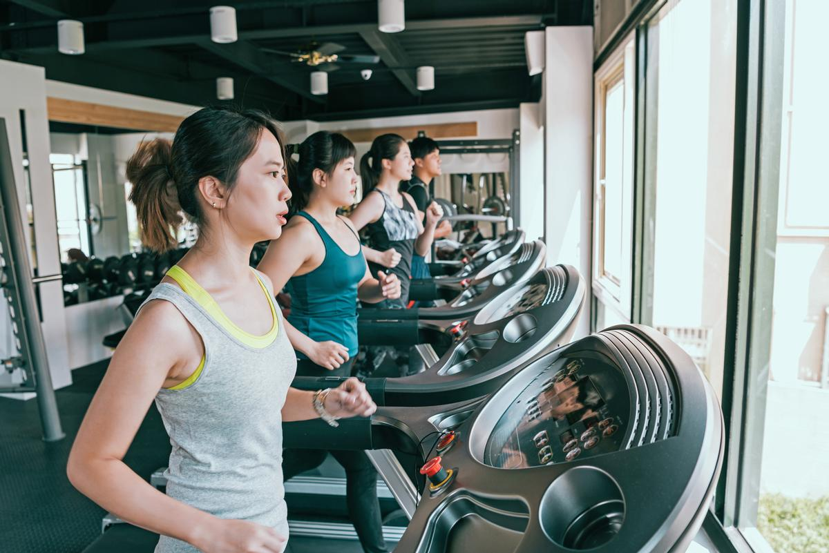 The penetration rate of gym memberships in the top 18 Chinese cities reached between 3-6 per cent in 2019 / Shutterstock.com/PR Image Factory