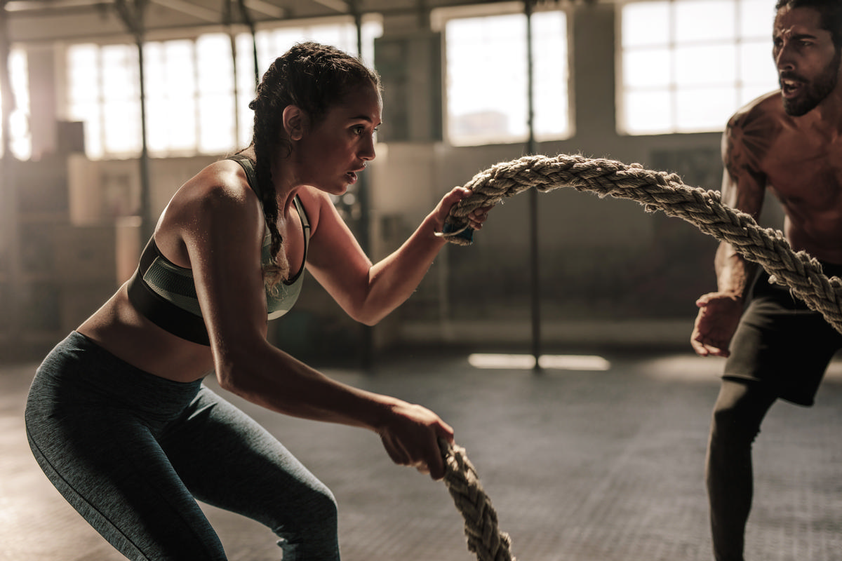 People using gyms reported exceptionally low levels of COVID-19 / Shutterstock/Jacob Lund