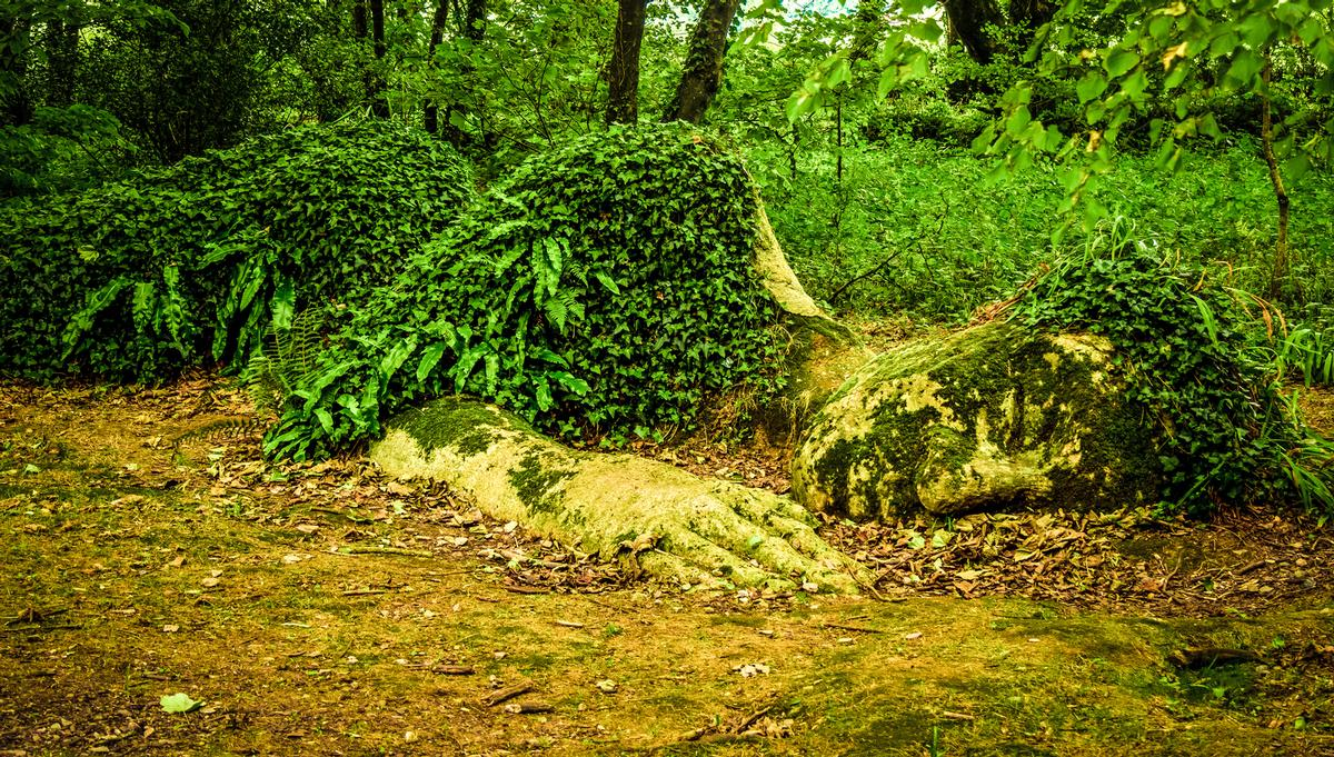 The Lost Gardens have been nicknamed a sleeping beauty after they lay untouched for nearly 80 years / Shutterstock/4kclips