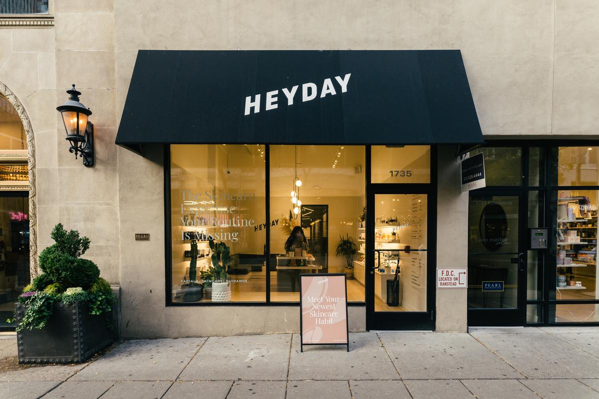 Heyday's expansion will meet the consumer both on and offline and will be inclusive of physical store expansion through a new franchise system