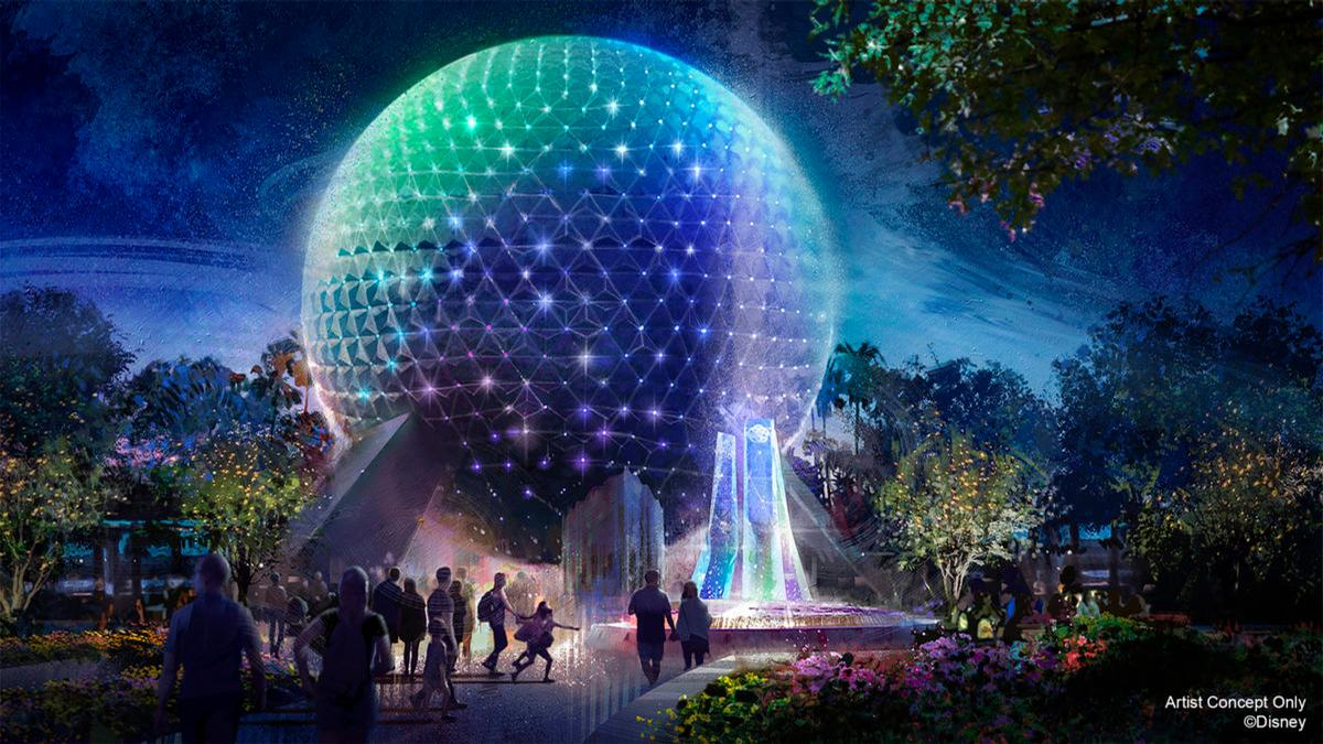The iconic Spaceship Earth attraction has become the symbol of EPCOT / Disney/Instagram Zach Riddley
