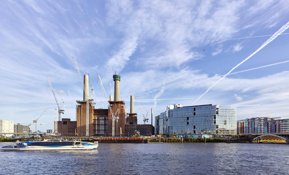 The mixed-use development will fully open to the public in 2022 / Battersea Power Station