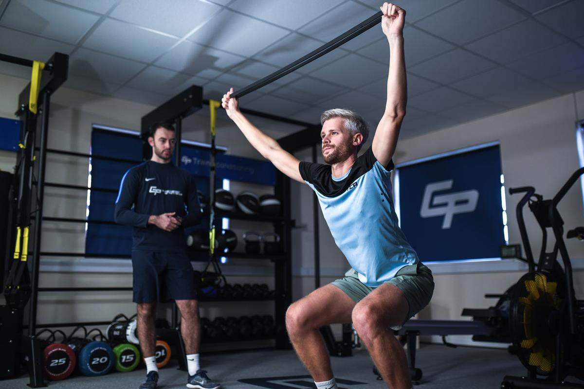 GCP has partnered with Indigo Fitness to create the training spaces