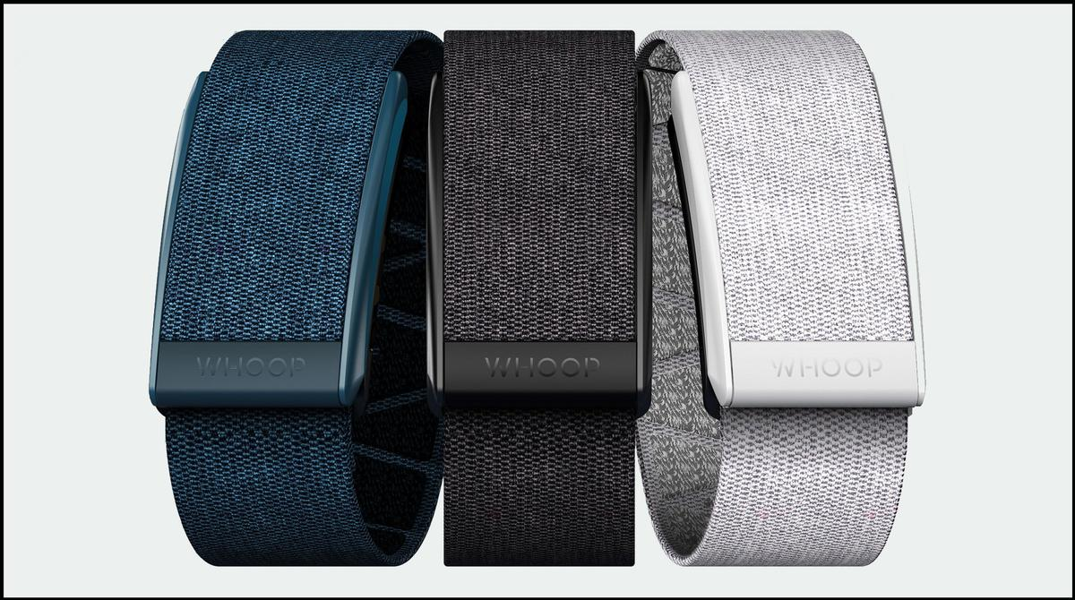 Soldiers will wear the WHOOP Strap 3.0 / WHOOP