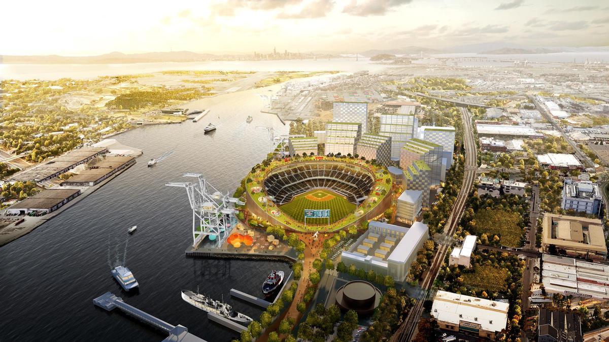 Bjarke Ingels-designed Oakland baseball stadium a step closer