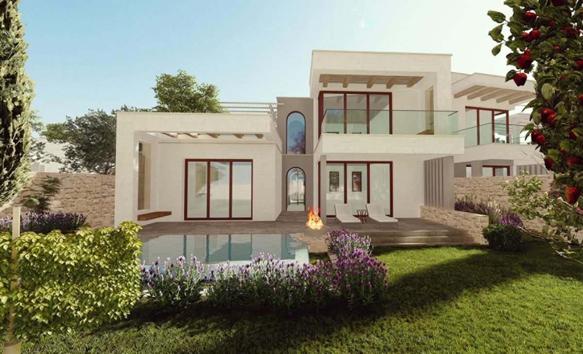 Resort accommodations will be housed in luxury villa-style units designed by HKS Architects / Four Seasons