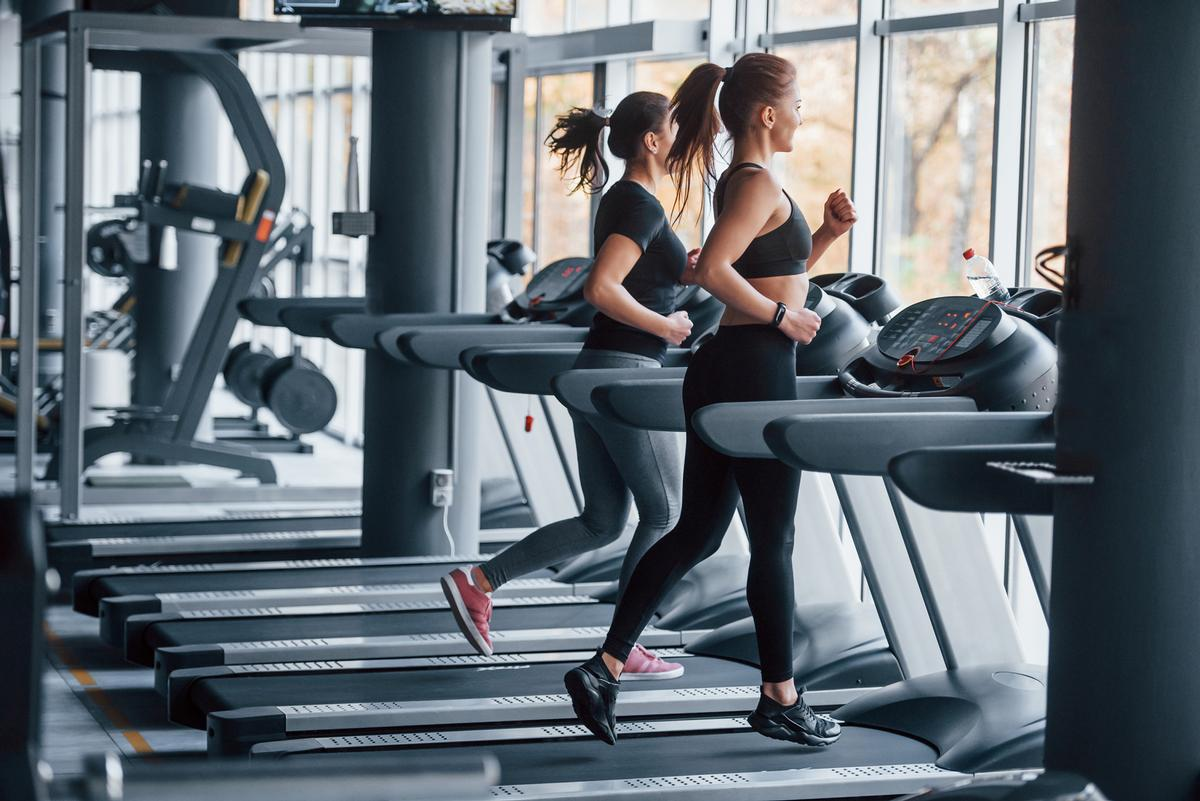 Public leisure centres and health clubs will be able to open their doors on 12 April / Shutterstock/Standret