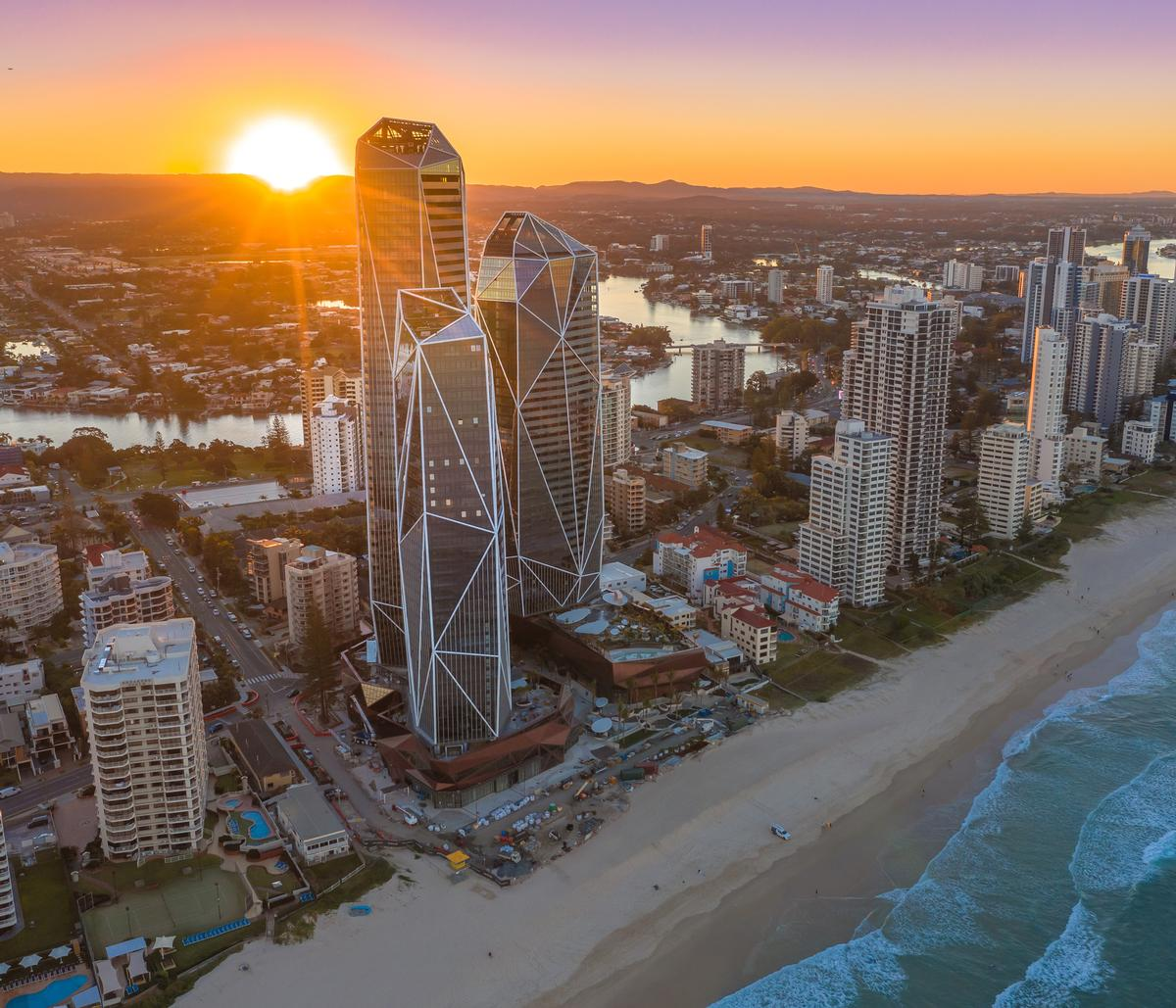 Langham to open beachfront hotel and TCM spa inside Chad Oppenheim's glimmering crystalline towers