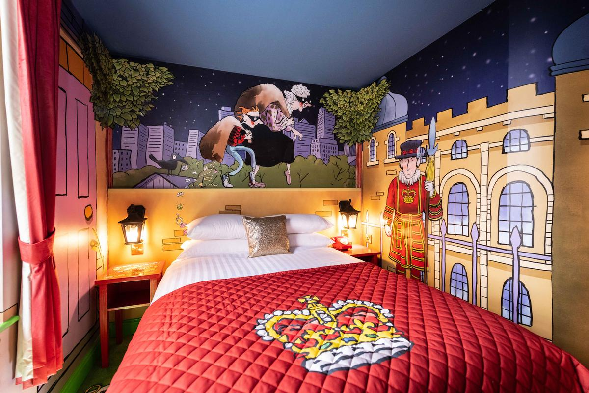 The ride experience will be accompanied by Gangsta Granny themed bedrooms at the Alton Towers Hotel / Merlin Entertainments/Alton Towers