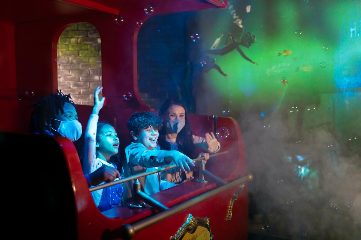 The multi-sensory, family ride will offer 360-degree special effects / Merlin Entertainments/Alton Towers