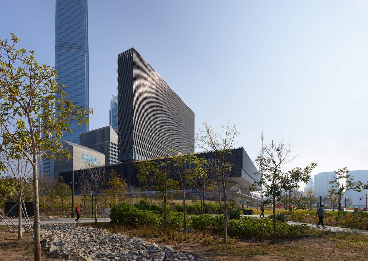 Work completed on iconic M+ museum designed by Herzog & de Meuron's in Hong Kong