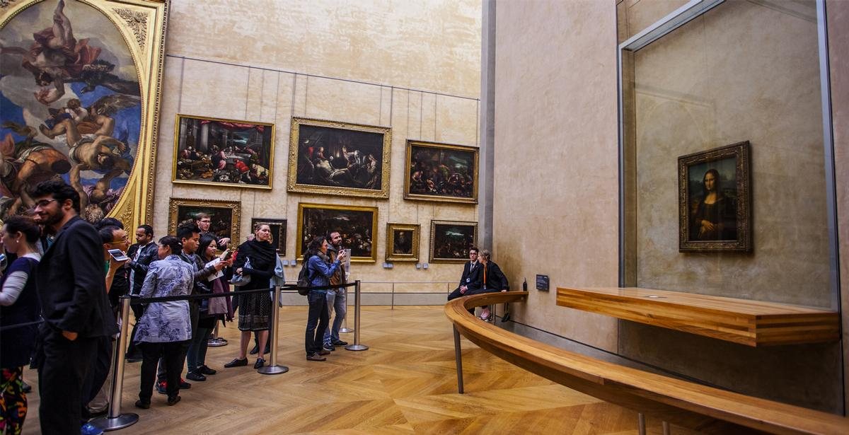 Despite a 72 per cent fall in visit numbers in 2020, The Louvre in Paris remained the world's most visited museum / Shutterstock/Alexandra Lande