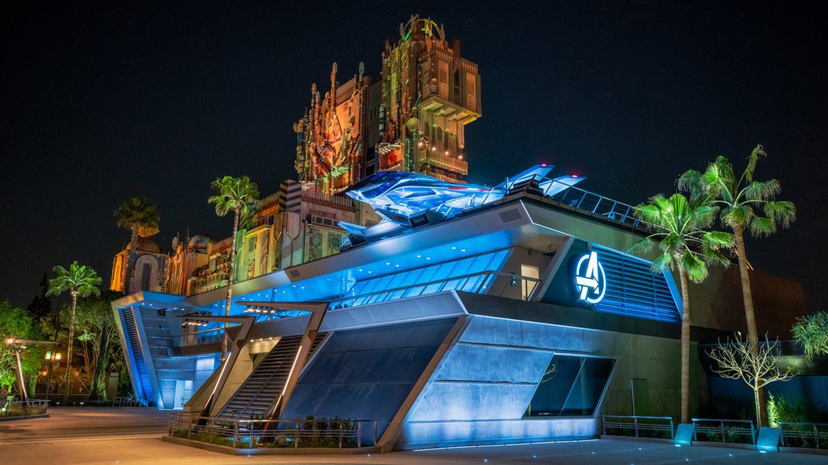 The Avengers Campus at the Disneyland California resort is the first of three to open / Walt Disney Company