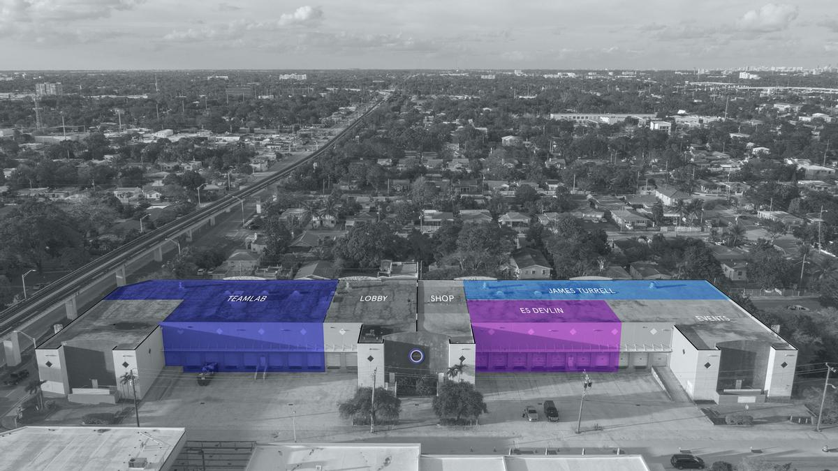 The venue houses more than 30,000sq ft of flexible installation space / Superblue