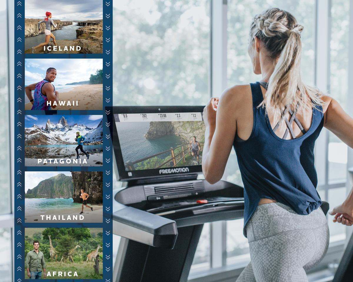 iFit – the world's only truly interactive, connected fitness platform – was built for the omnichannel world