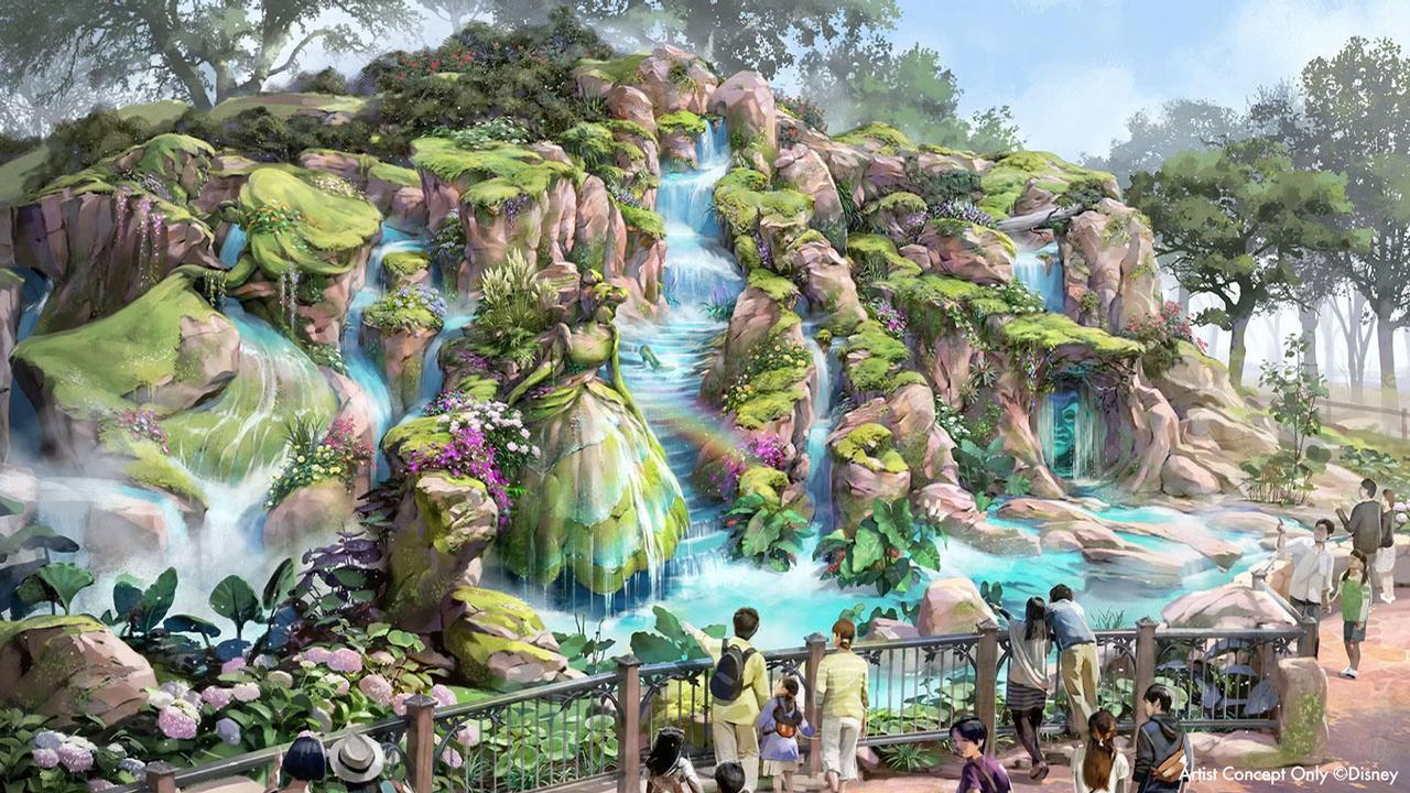 Fantasy Springs will be the eighth themed port in Tokyo DisneySea / Disney