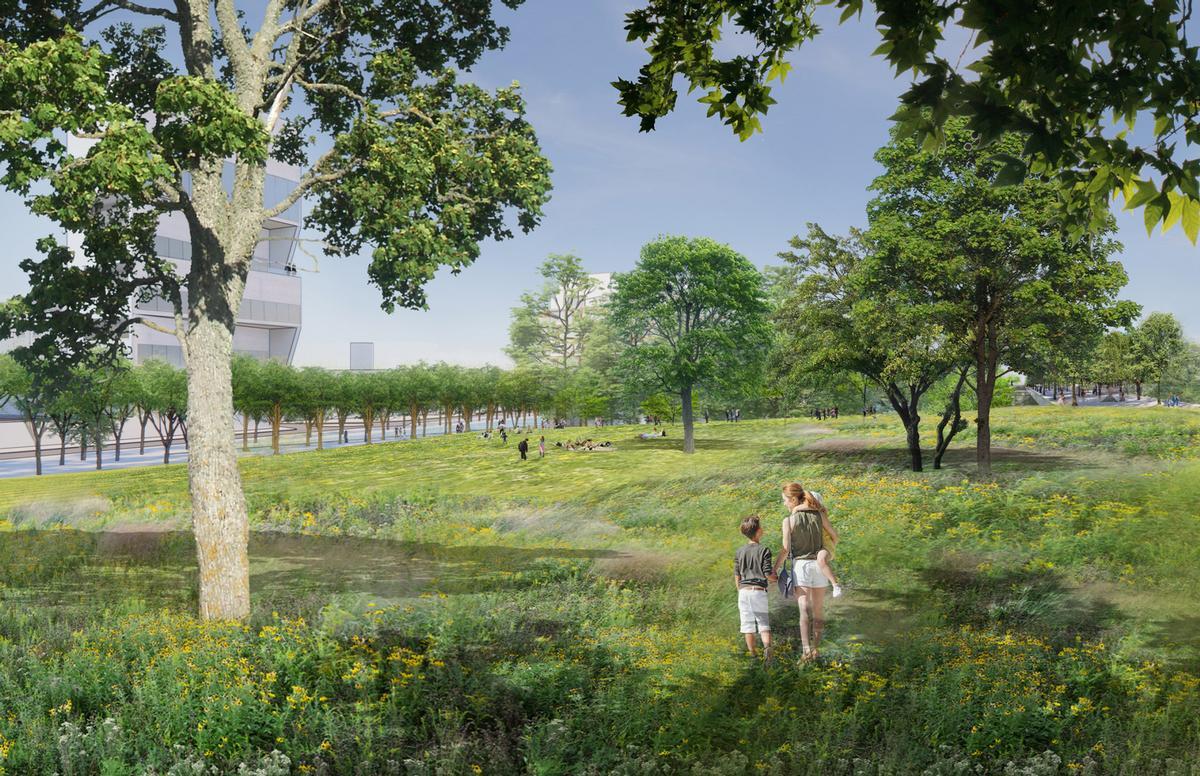 The project will transform the vast Porta Romana railway yard / PLP Architecture