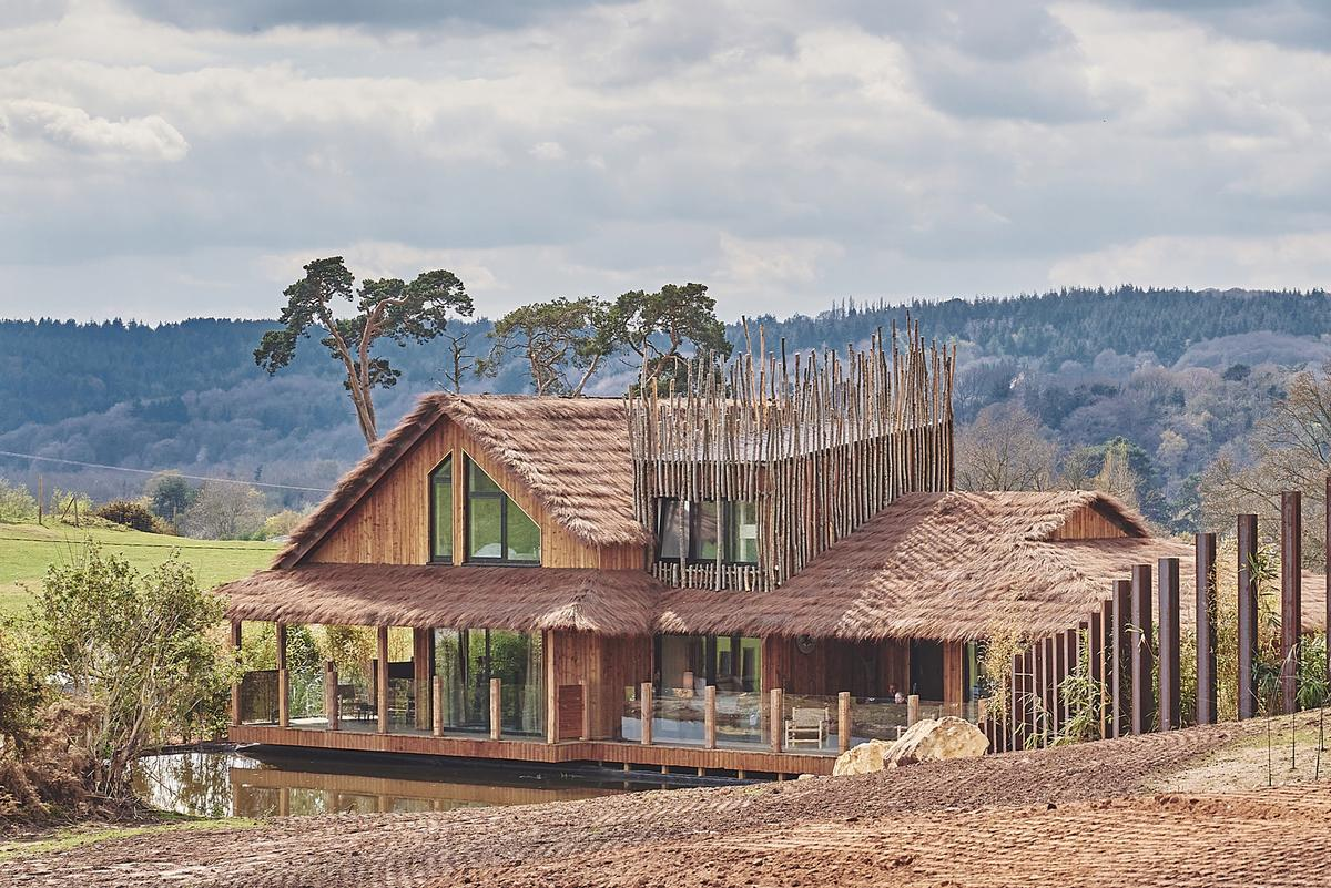 The development forms the first phase of the Park's Safari Lodges proposition / West Midlands Safari Park