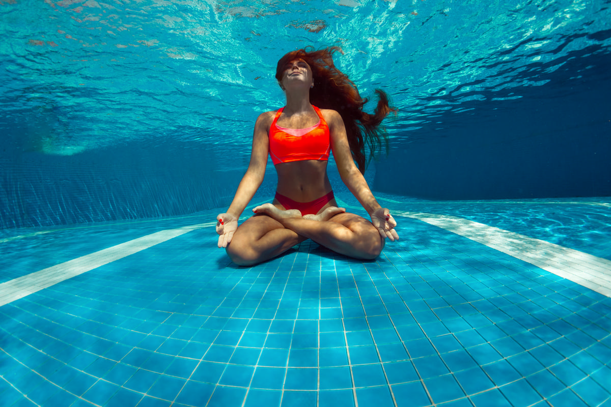 The study looked at the effects of swimming pool water on SARS-CoV-2 / Shutterstock/Wallenrock