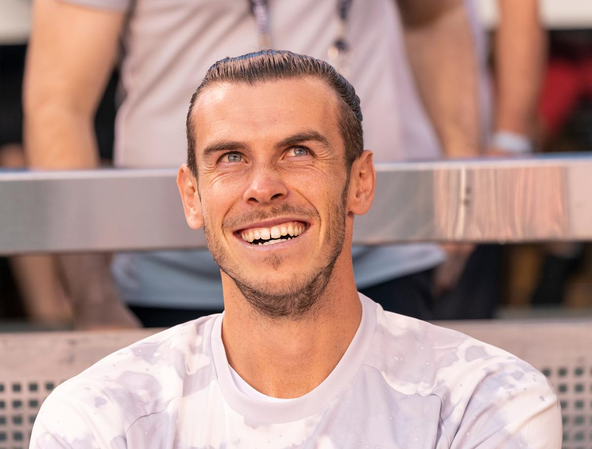 Rowbots was launched by footballer Gareth Bale, alongside CEO Sam Green and brand specialist, Greg Zimmerman / Shutterstock/lev radin