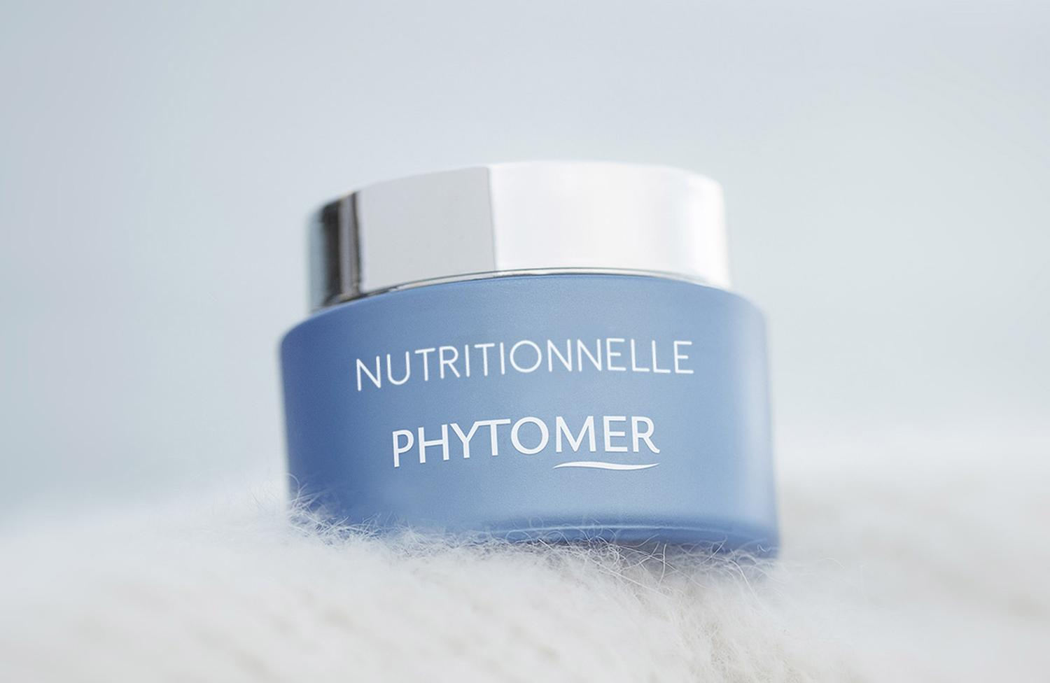 The Nutritionnelle cream is designed to be deeply moisturising and hydrates the epidermis from its deepest layers / Phytomer