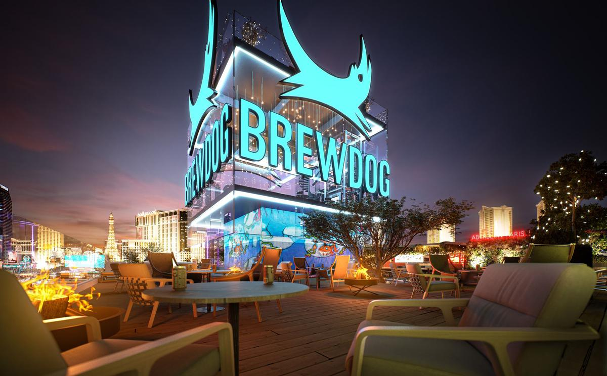 The brewery will feature an urban forest, an event and entertainment space and a retro game zone / Brewdog