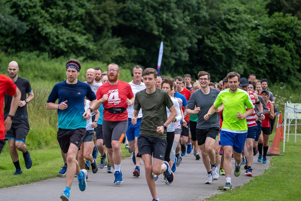 Computer models showed that 0.015 per cent of runners would have potentially acquired a COVID-19 infection / Shutterstock/Paul Hanley
