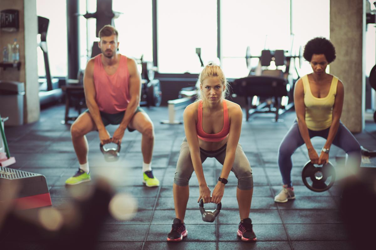 Hussle has gym partner locations in 96 per cent of UK postcodes / Shutterstock/Liderina