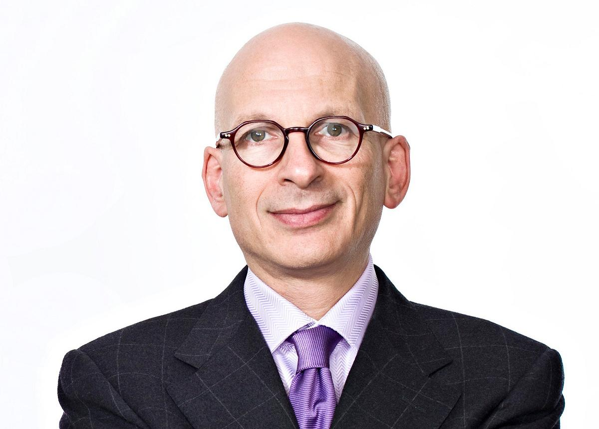 Seth Godin is an internationally recognised speaker and blogger who has written extensively on marketing, business leadership and maintaining drive in the face of adversity