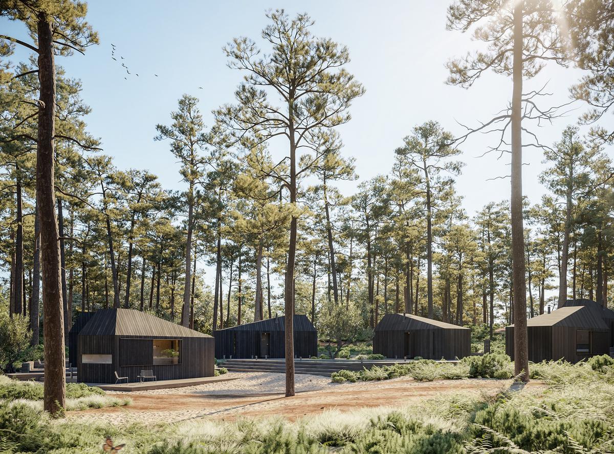 Hytte draws inspiration from Scandinavia and interior design and branding firm Aylott & Van Tromp / Merge Visualisation