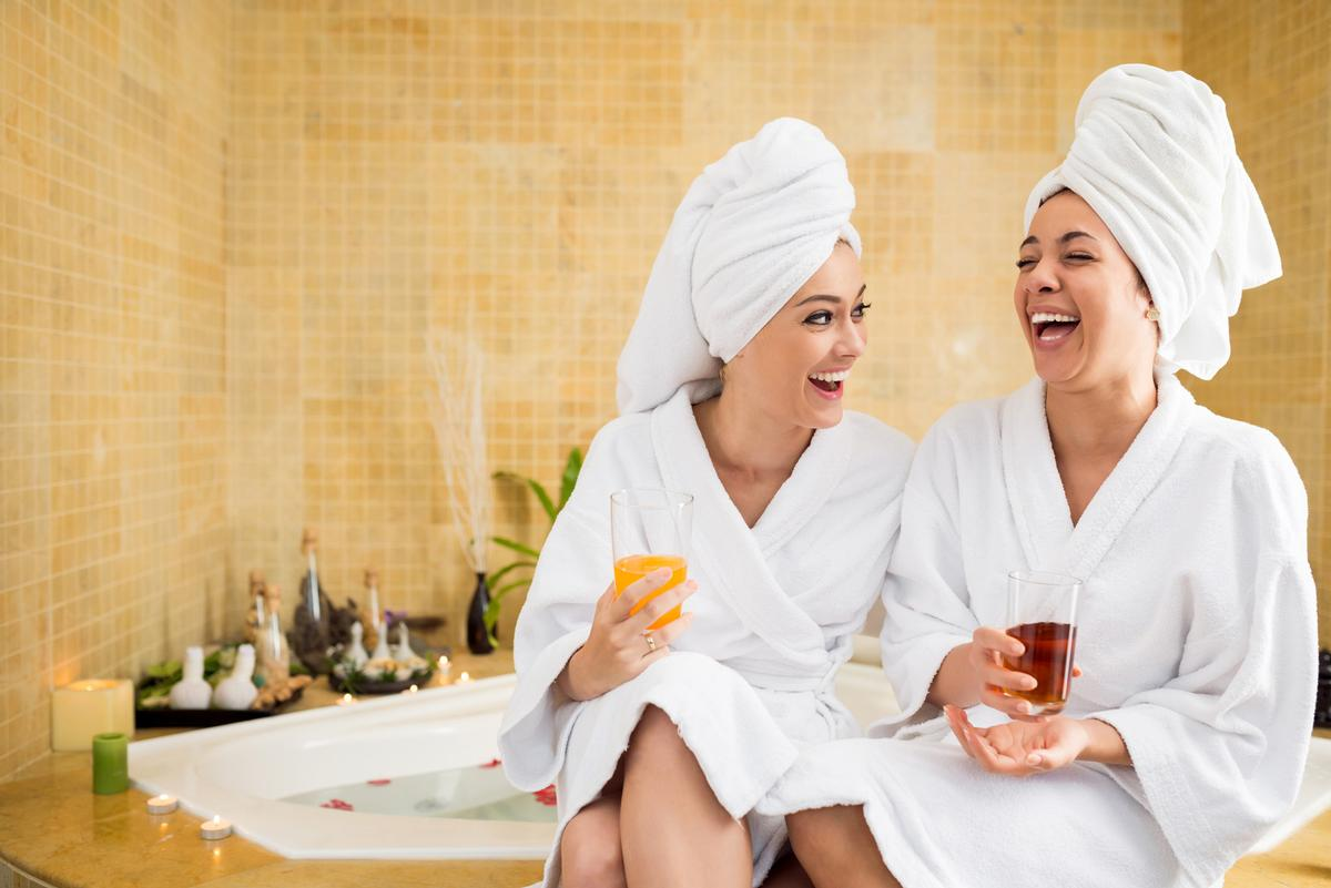 Researchers said US spas should prepare to welcome back existing customers as well as a brand new client base who've never been to spas before but have been inspired to do so in light of the pandemic / Shutterstock/Dragon Images